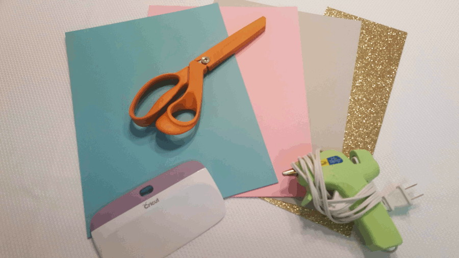 supplies needed to make single petal paper flowers